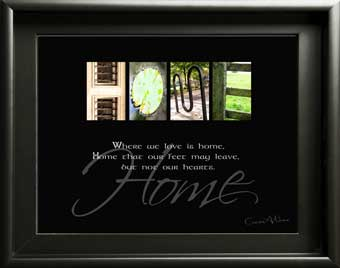 Home Family Housewarming Welcome Alphabet Art Image With Inspirational Quote Xmas Gift Mother's Day