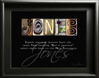 Jones Ancestry welsh surname origin name meaning Letter Art What does Harris Evans Patterson Thornton mean? Gift