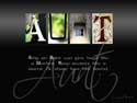 Alphabet Art Slideshow photo Gallery custom gift